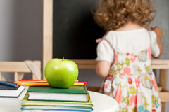 Schoolchild in classroom Stock Photos