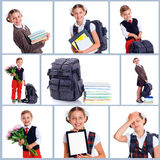 Schoolchild Royalty Free Stock Photography