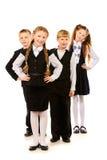 Schoolchildren Royalty Free Stock Photo