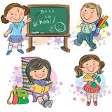Schoolchildren Stock Photo