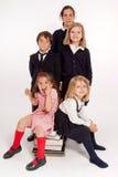 Schoolchildren Royalty Free Stock Photos