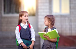 Schoolchildren Royalty Free Stock Images