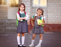 Schoolchildren Royalty Free Stock Photo