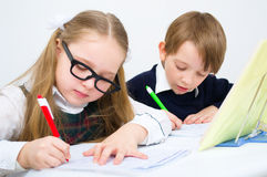 Schoolchildren Royalty Free Stock Image