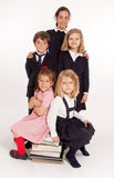 Schoolchildren portrait Stock Photos