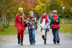 Schoolchildren Royalty Free Stock Photography