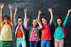 Schoolchildren Royalty Free Stock Image