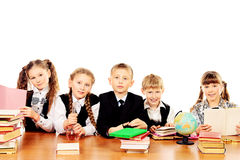 Schoolchildren Royalty Free Stock Photos