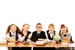 Schoolchildren Stock Photography