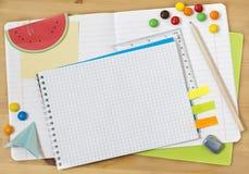 Schoolcollage Stock Foto