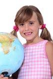 Schoolgir joven Foto de archivo libre de regalías