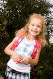 Schoolgirl #1 Arkivfoto