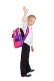 schoolgirl Royaltyfria Bilder