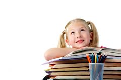 Schoolgirl Royalty Free Stock Images