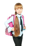 Schoolgirl Royalty Free Stock Photography
