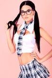 schoolgirl Arkivfoto