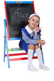 Schoolgirl Royalty Free Stock Photos