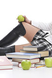 Schoolgirl Stock Photography