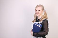 schoolgirl stockfotografie