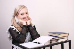 schoolgirl Imagem de Stock