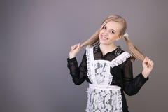 schoolgirl Stockfoto