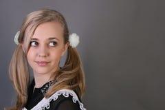 schoolgirl lizenzfreie stockfotografie