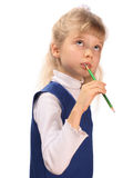 Schoolgirl. Royalty Free Stock Photos