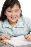 Schoolgirl. Royalty Free Stock Images