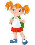schoolgirl Arkivbild