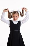schoolgirl Immagine Stock Libera da Diritti