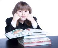 schoolgirl Fotografie Stock