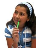 schoolgirl Royaltyfri Foto