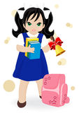 Schoolgirl Royalty Free Stock Photography