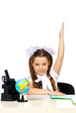 Schoolgirl Elementary School Royalty Free Stock Images