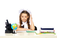 Schoolgirl Elementary School Royalty Free Stock Photo