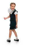 Schoolgirl fun Royalty Free Stock Images