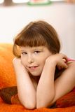 Schoolgirl portrait Stock Images