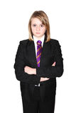 Schoolgirl School bully royalty free stock images
