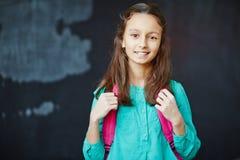 Schoolgirl at school Stock Photography