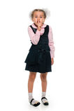 Schoolgirl secret Royalty Free Stock Images