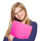 Schoolgirl smiling Royalty Free Stock Image