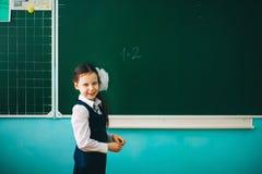 The Girl schoolgirl. Royalty Free Stock Photos