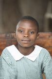 Schoolgirl in Uganda Royalty Free Stock Photos