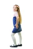 Schoolgirl in uniform Stock Image