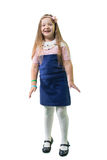 Schoolgirl in uniform Royalty Free Stock Image