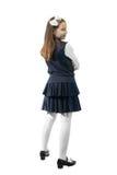 Schoolgirl in uniform Stock Photo