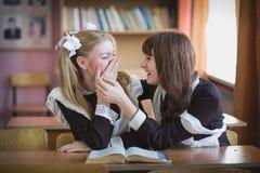 schoolgirls Imagem de Stock