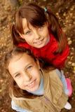 Schoolgirls Royalty Free Stock Images