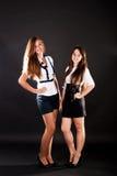 Schoolgirls Royalty Free Stock Photography