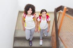 Schoolgirls Royalty Free Stock Photo
